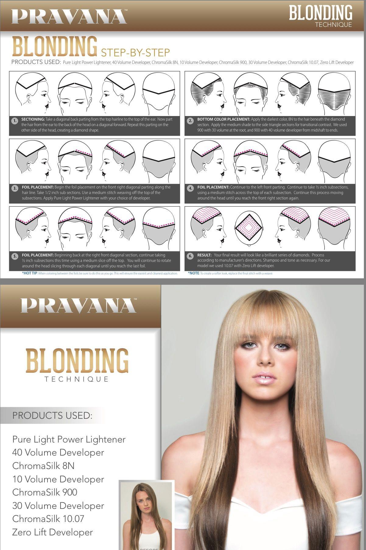 Tutorial  Hair color techniques, Pinwheel hair color, Hair color