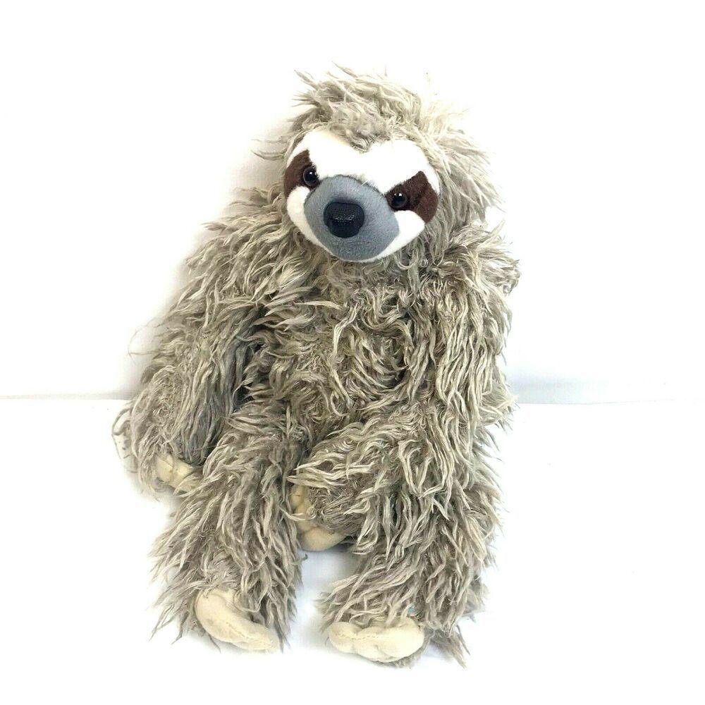 Wild Republic ThreeToed Sloth Stuffed Animal South