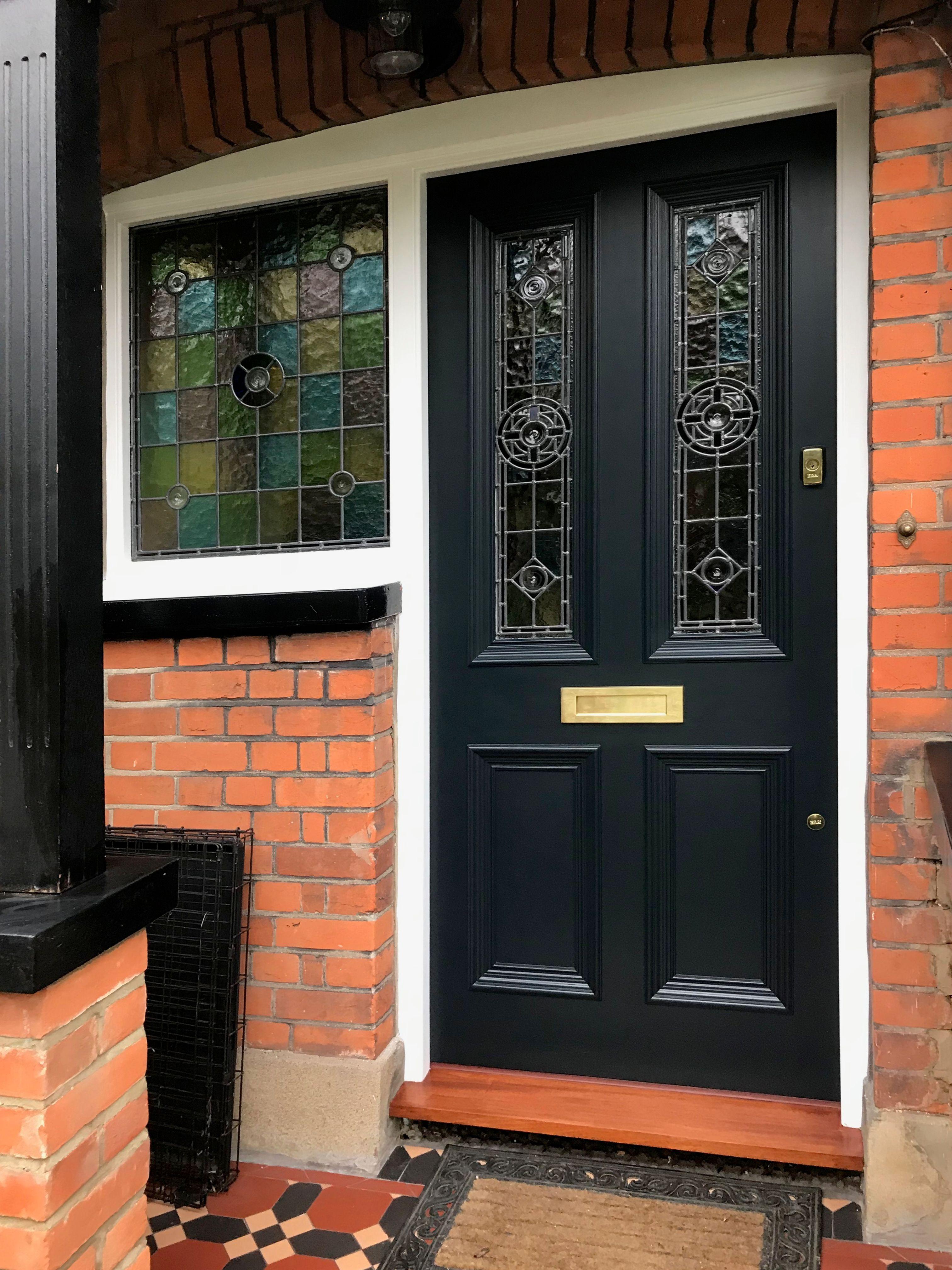 Beautiful London Door Recently Installed By Bespoke Front Door