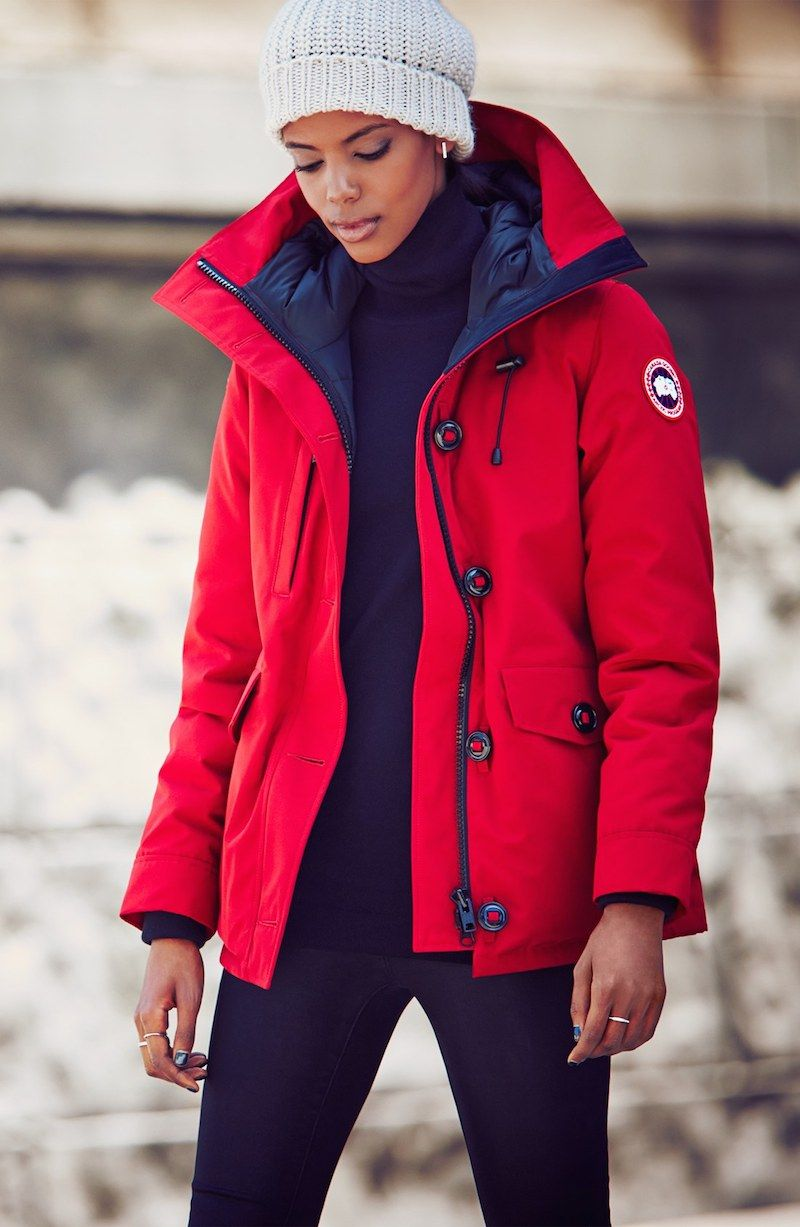 canada goose parka temperature rating
