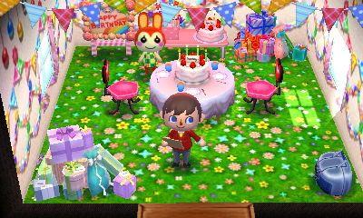 Animal Crossing Happy Home Designer Blog Days 48 49 Happy Home Designer Animal Crossing Camping Birthday Party