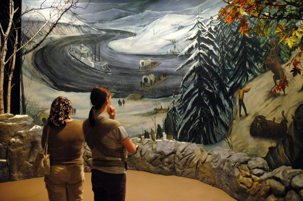 Cherokee Indians Trail Of Tears | trail of tears mural opphavsmann kingary the trail of tears was a ...