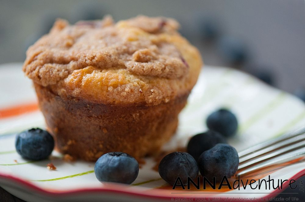Yum! After my friend Margo from Bright Occasions posted that she was baking blueberry muffins, I was inspired to try this myself. I searched for a recipe to see if I even had all the ingredients to...