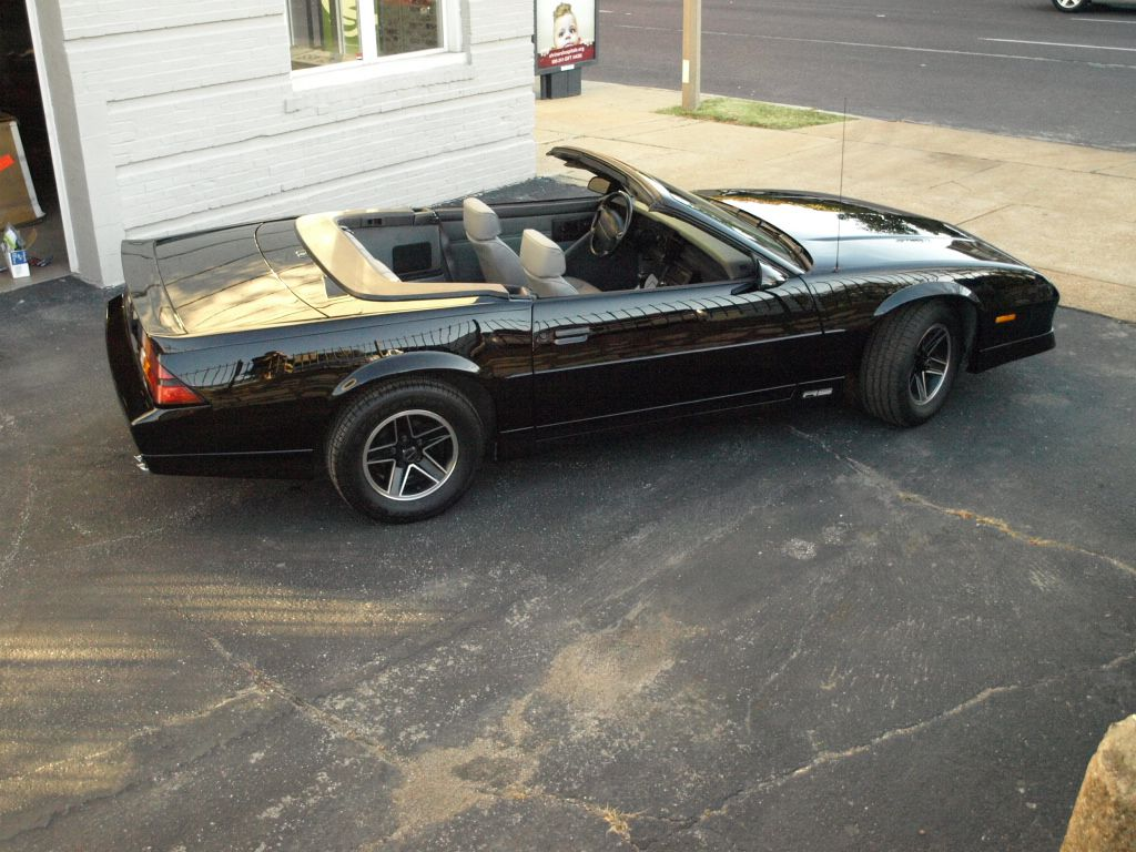 1980 Chevy Camaro convertible | Cars we have restored | Pinterest