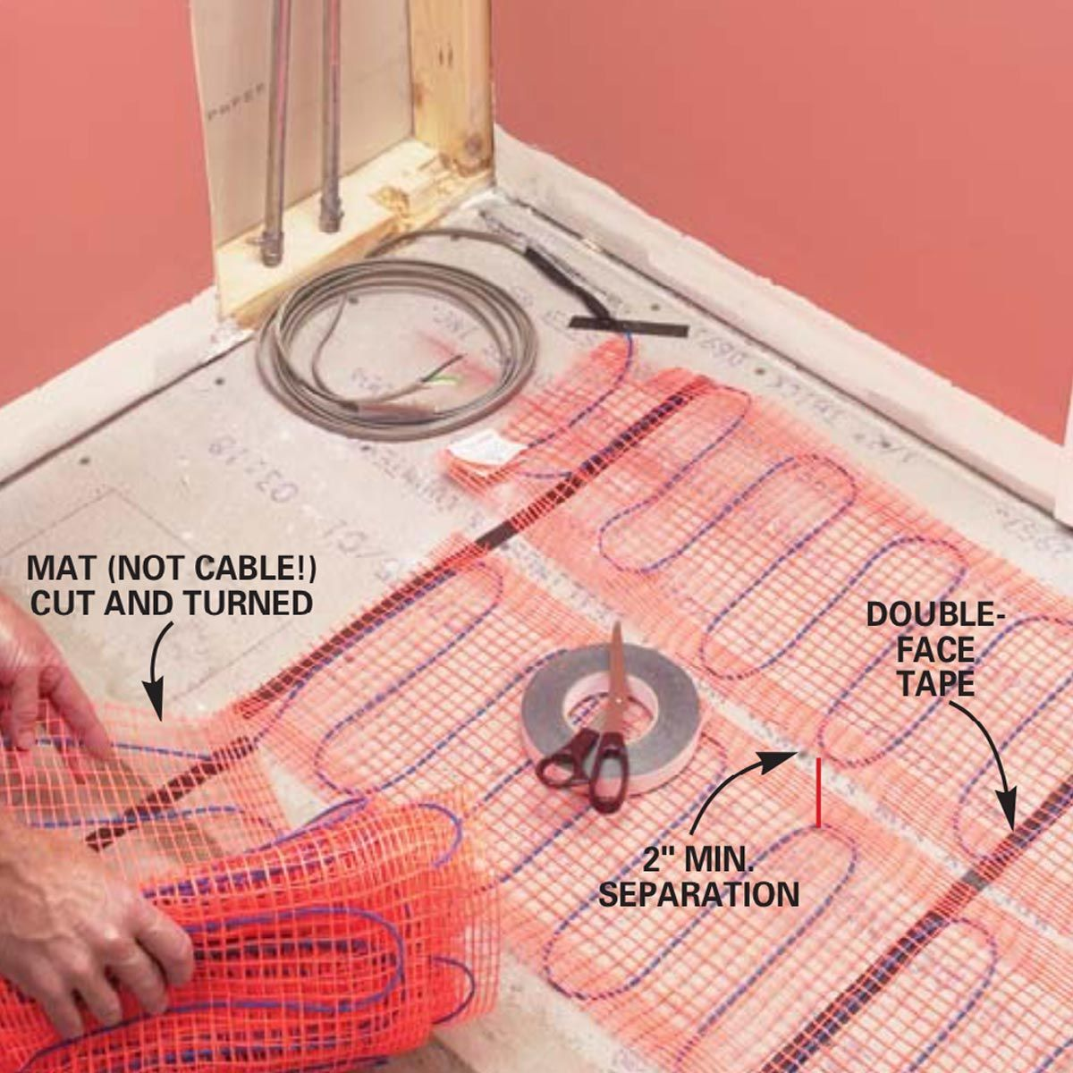 How To Install In Floor Heat Texas Al House