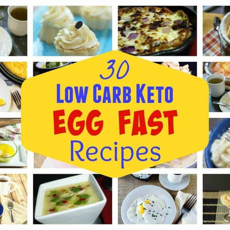 Struggling to lose weight on a low carb diet? An egg egg ...