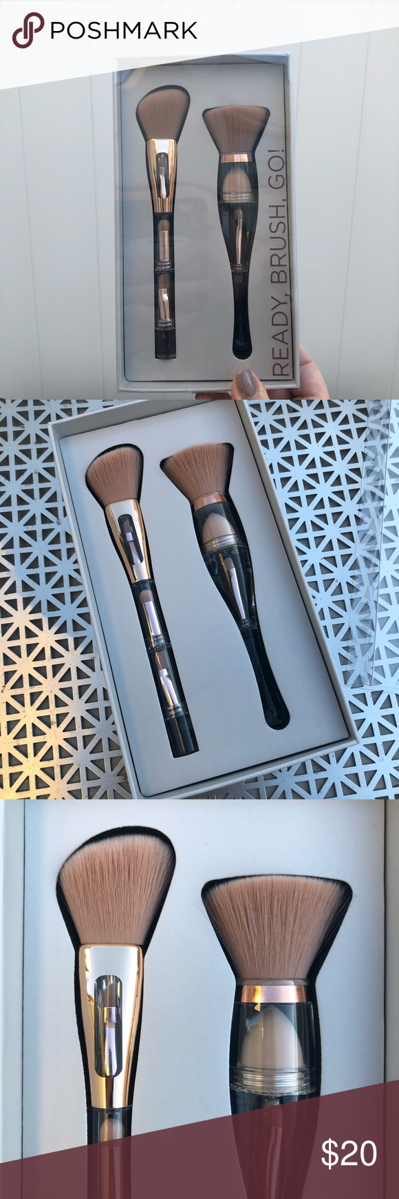 Makeup Brush Set NWT Makeup brush set, Makeup brushes