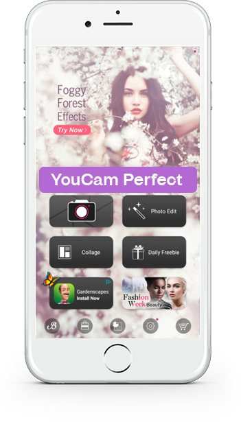 Download Youcam Perfect android version today (youcam