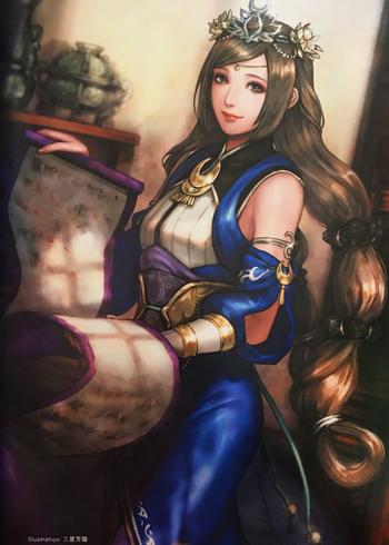 Dynasty Warriors Wei Kingdom Characters Tv Tropes Dynasty Warriors Dynasty Warriors Characters Warrior Girl