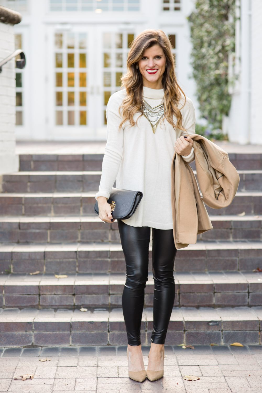 to wear - How to white wear leggings in winter video