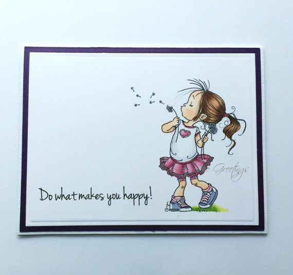 Thank You Card, Thinking of You Card, Blank Notecard, Just Because Card, Friendship Card, Encouragement Card, Any Occasion Card by RowhouseGreetings