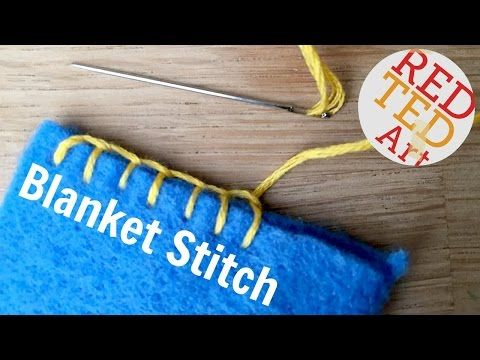 Basic Hand Stitches For Beginners Hand Sewing Projects Sewing