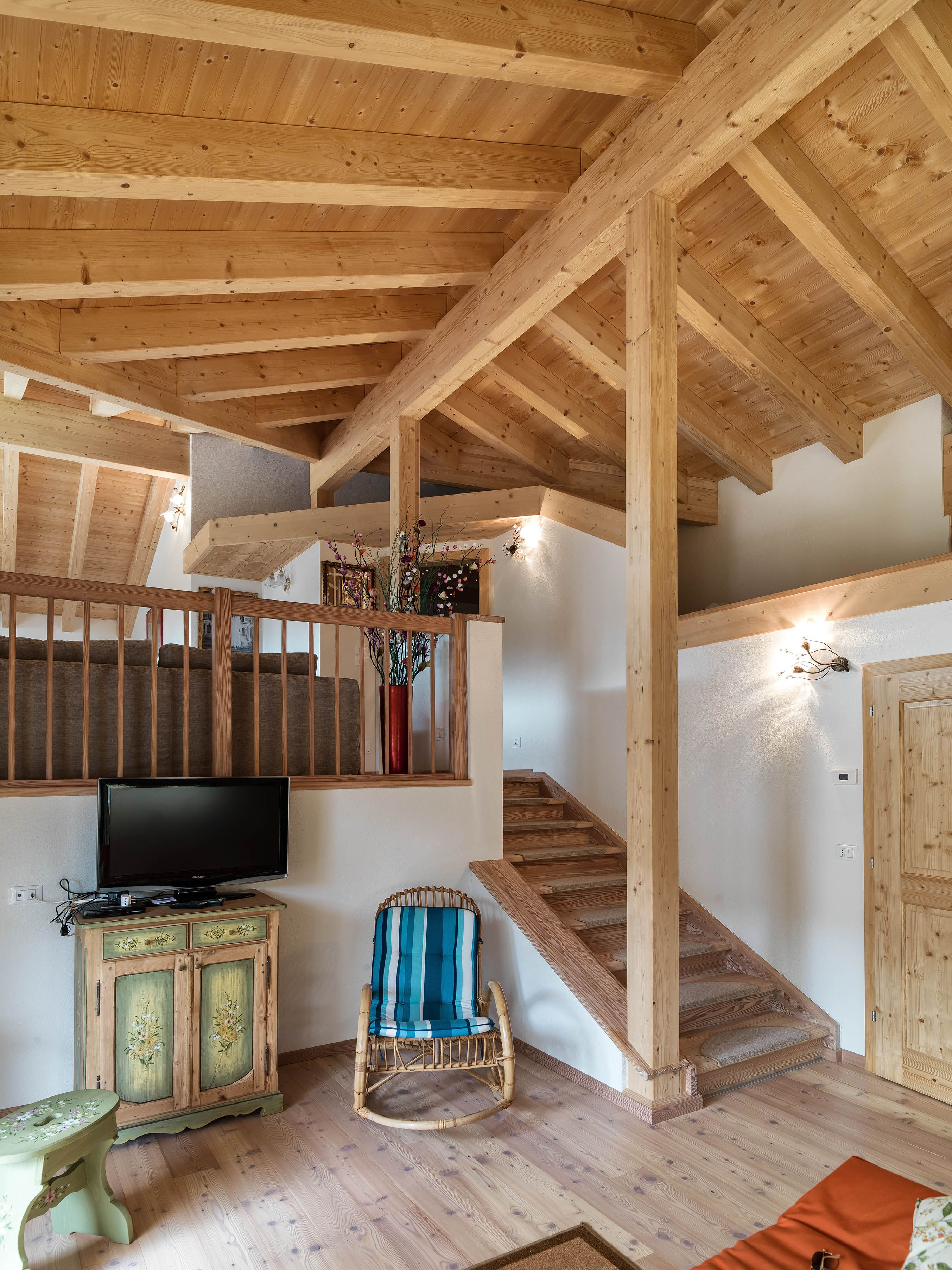 Design In Legno Rubner Haus M4 Great Room Log Homes Great Rooms