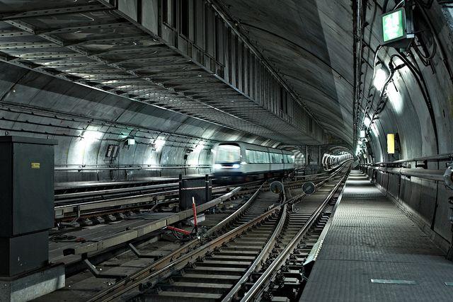 Copenhagen metro in Denmark. Photo by Rune Luk