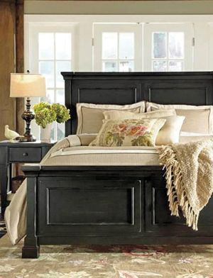 Stash Home Panel Bed King Upholstered Bed California King Headboard