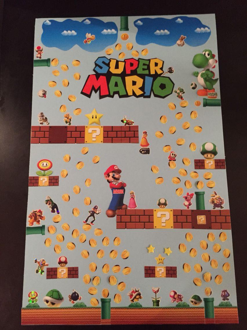 Kindergarten Project , Super Mario Bros