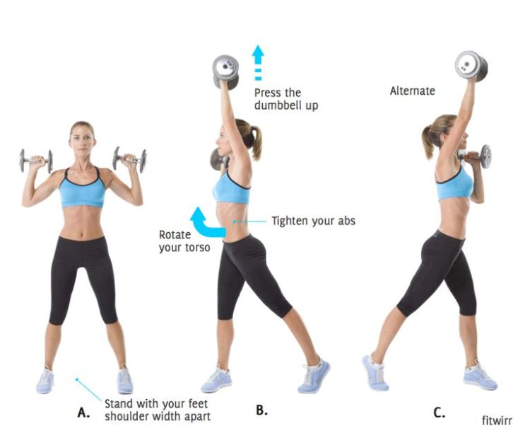 Don T Like Crunches Yeah Neither Do We There Are Other Ways You Can Slim Your Waist With Out Having To Weight Routine Weight Training Routine Shoulder Press