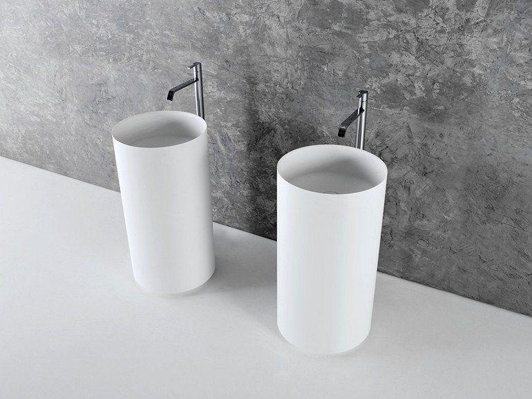Lavabo freestanding in Corian® EGO by Antonio Lupi Design ...