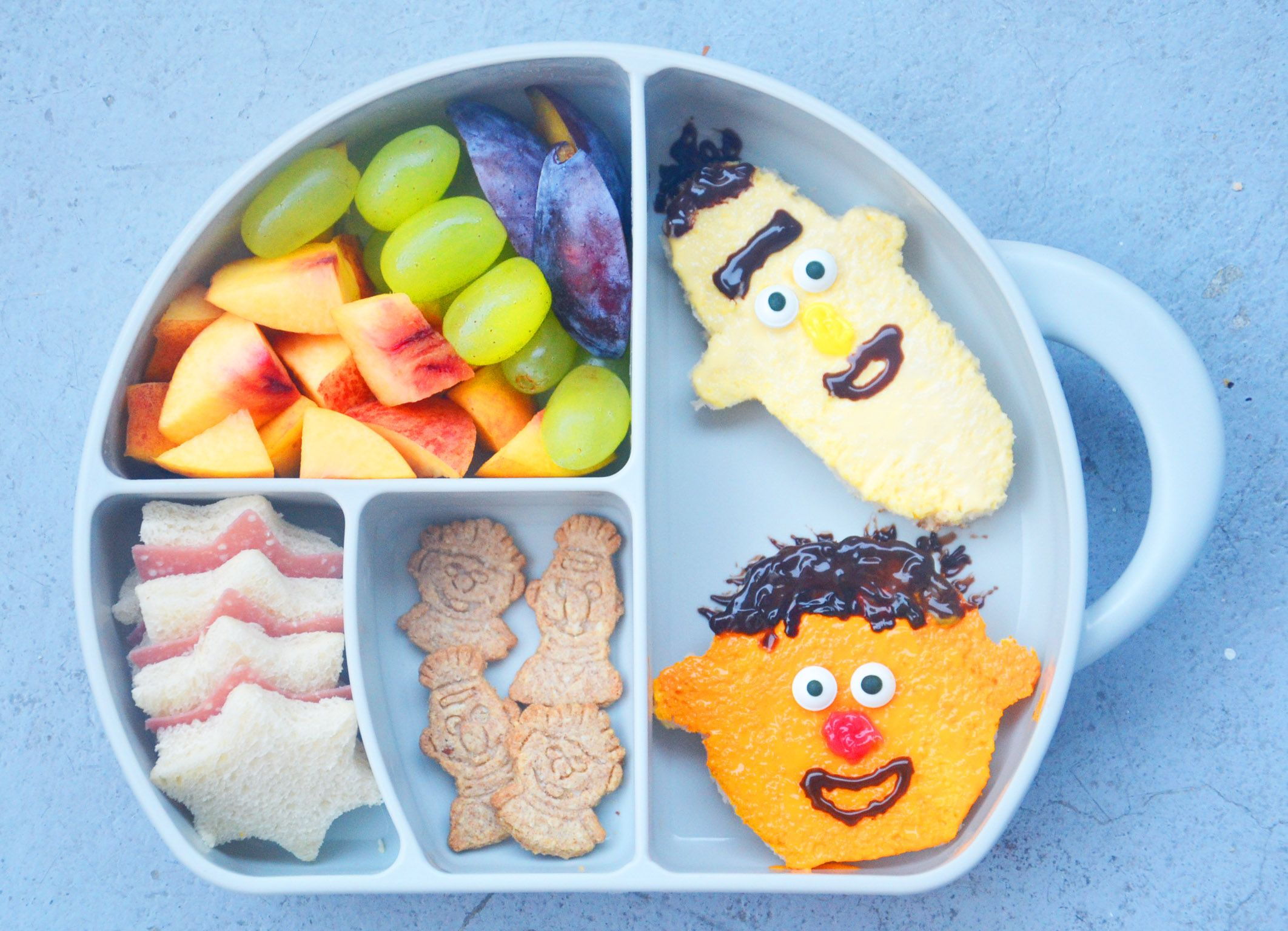 Brotbox Kinder Ernie Und Bernd Bentobox Bentobox Ideas Brotdose Mal