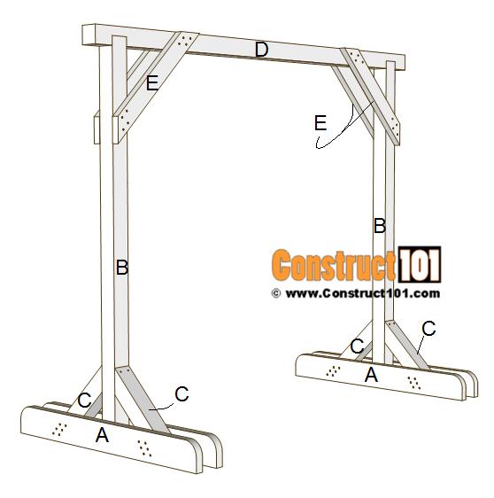 Porch Swing Stand Plans Pdf Download Diy Porch Swing Diy