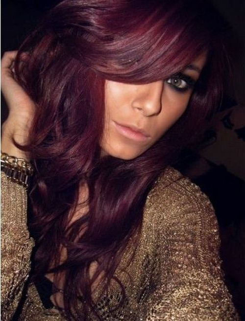 Burgundy Purple Hair Color Top Hair Colorists Nyc Burgundy Brown ...