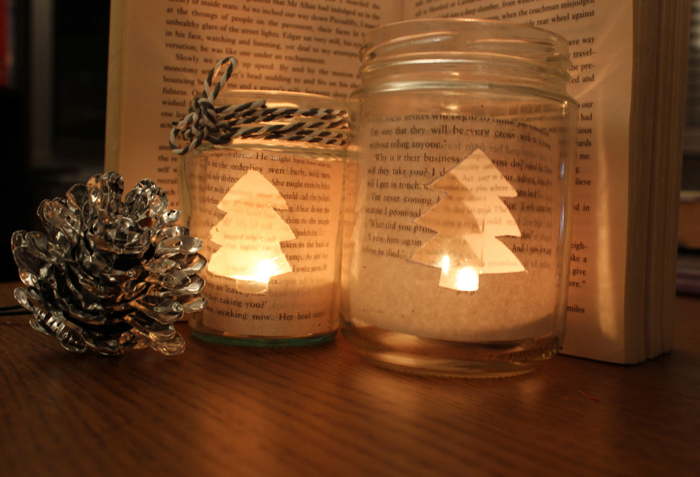 If you've been on Pinterest and ogled at all theDIYChristmas decorations, you've probably come across this one: Image from welke.nl Now generally we're pretty skeptical of 'easy DIY's' - especially the beautifully-shot DIY projects that are all over Pinterest. But this one was different. It involved two of my favourite things: old book pages and tea lights. Plus I had a few old jars floating around that were begging to be given a new purpose. So I thought I'd give this little bea...