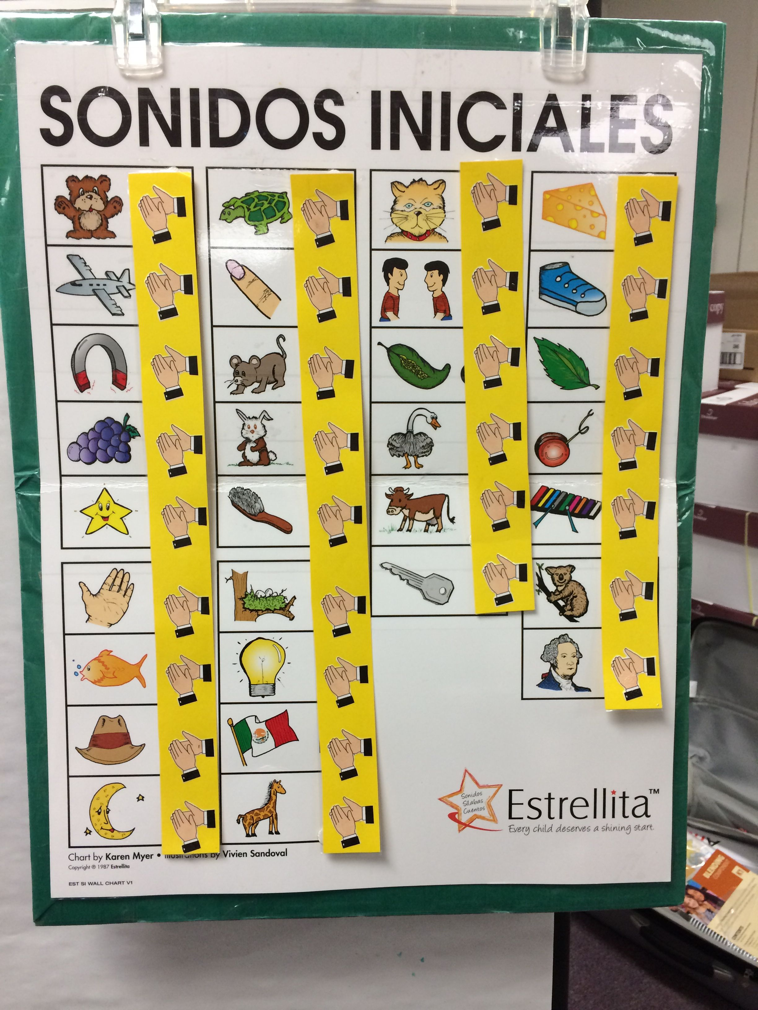 estrellitas program for teaching spanish phonics this poster also has a song chant to match it. Black Bedroom Furniture Sets. Home Design Ideas