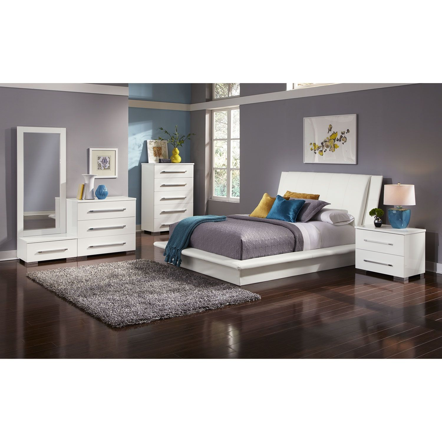 The Marilyn Collection | Value City Furniture | Gil | Pinterest | City  Furniture, Queen Beds And Bedrooms