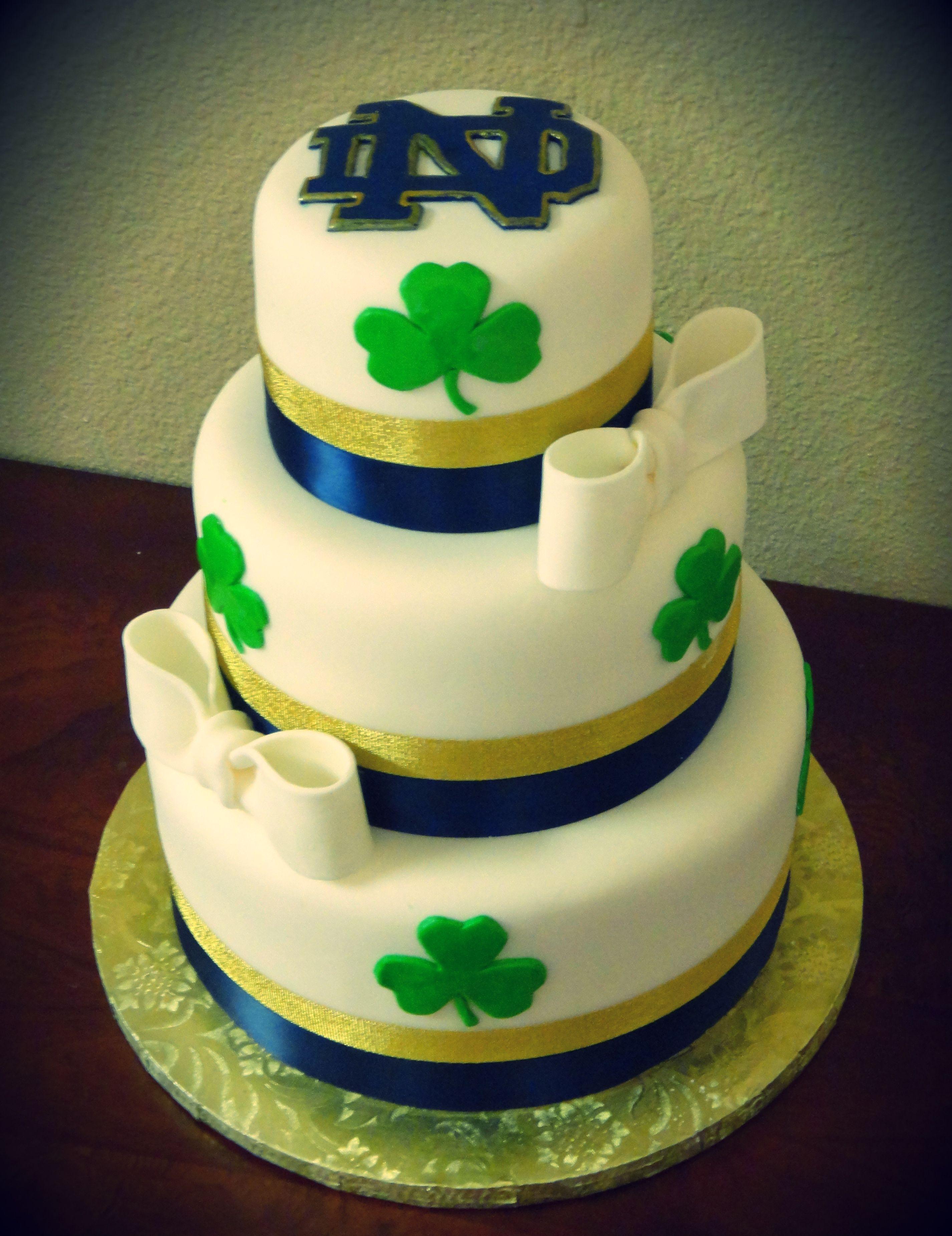 Notre Dame Cake Decorations Notre Dame Graduation