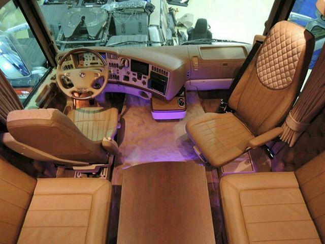 Scania Custom Interior Semi Trucks Interior Truck Interior