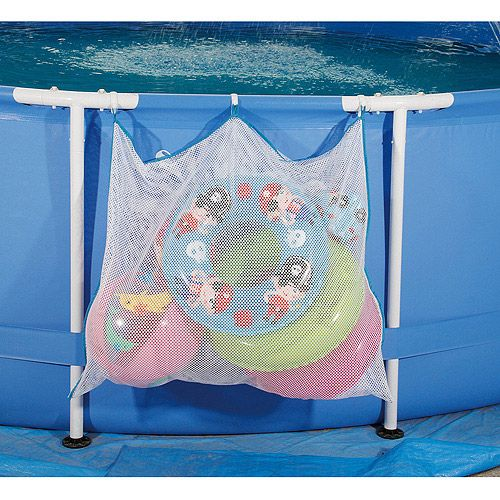 Summer escapes pool storage caddie outdoor play walmart for Above ground pool storage ideas