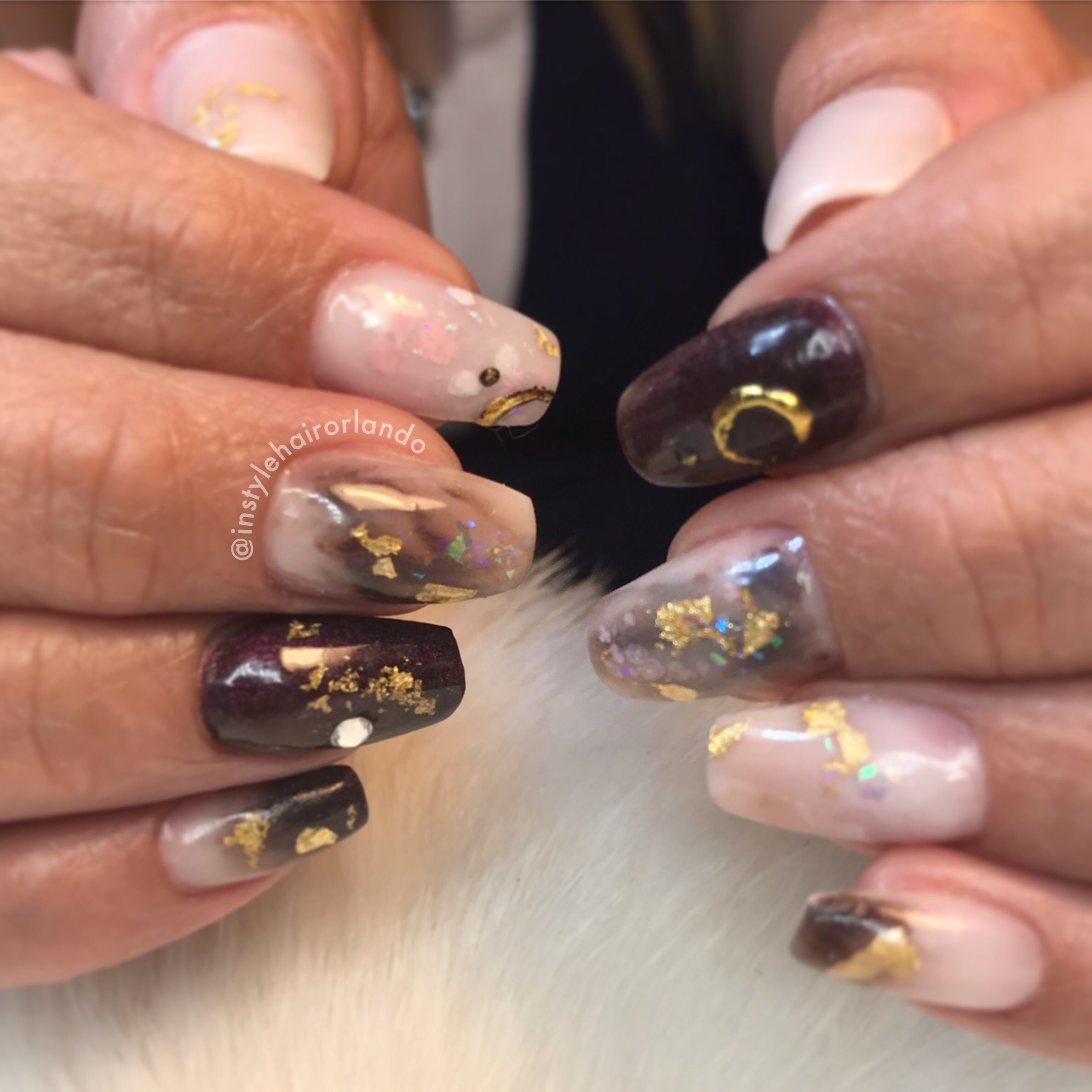 Nails By Wi At In Style Baldwin Park Orlando Fl Follow Us On Instagram Instylehairorlando Instylehairorlando Eyelash Tinting Gel Manicure Eyebrow Tinting