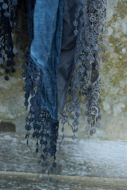 these gorgeous over dyed silk Italian scarves can be found at Heatherrossinhouse!