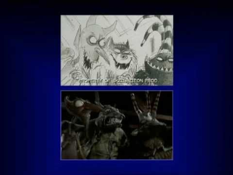 Nightmare Before Christmas - storyboard to film comparison and film ...