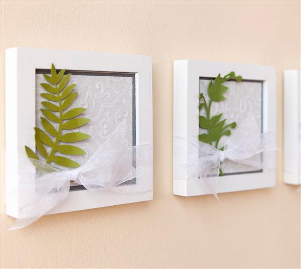 project center elaborate quatrefoil leaf frames made by me
