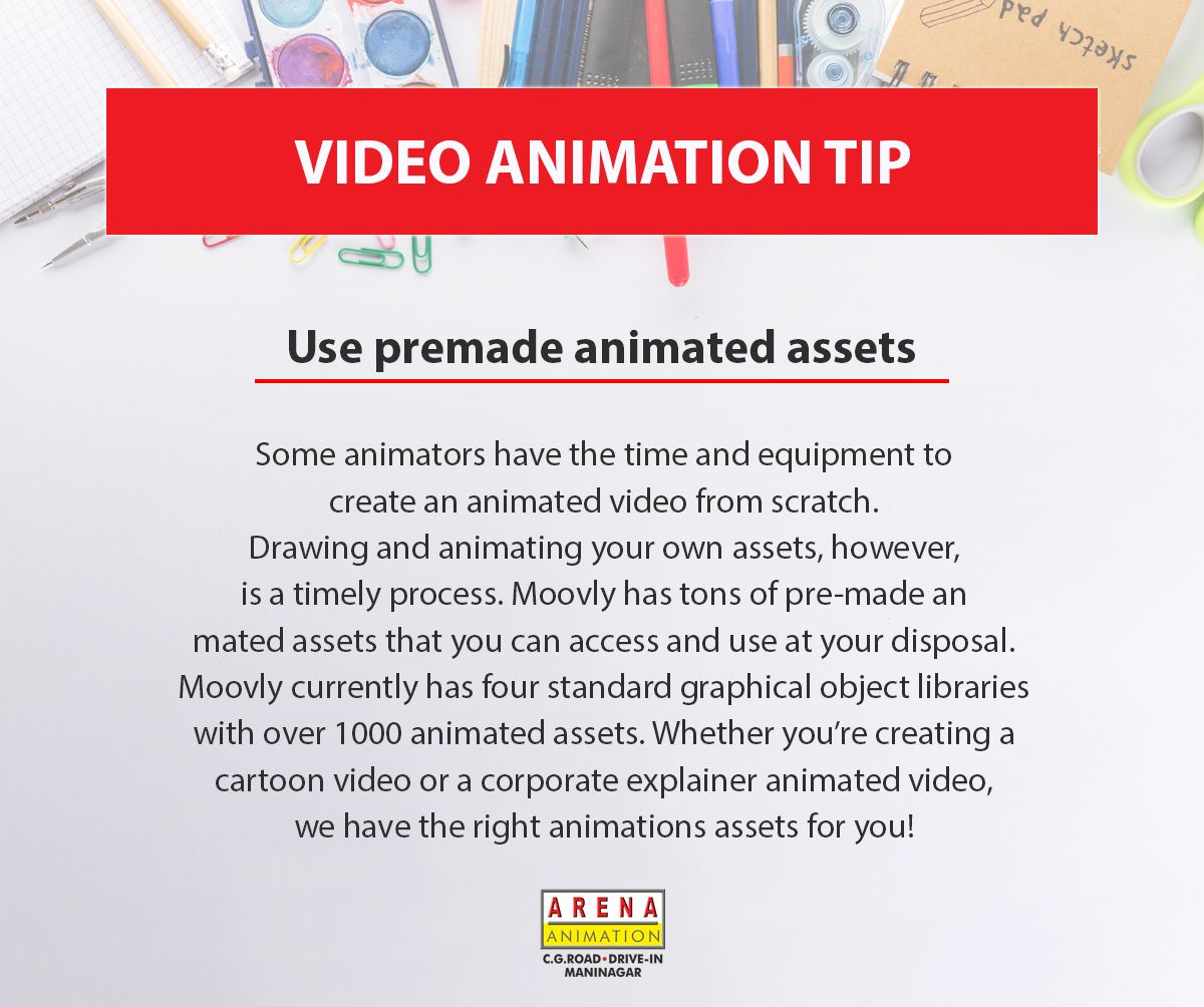 Video Animation Tip Use Premade Animated Assets Tuesdaytip Tipoftheday Videoanimationtip Arena Www Aren Web Design Course Graphic Design Course Web Design
