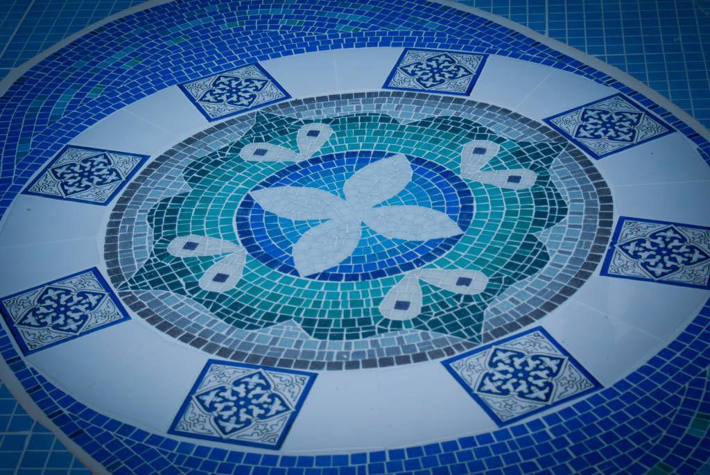 Mandala Para Fondo De Piscina Piletas Modernas Ideas Imagenes Y