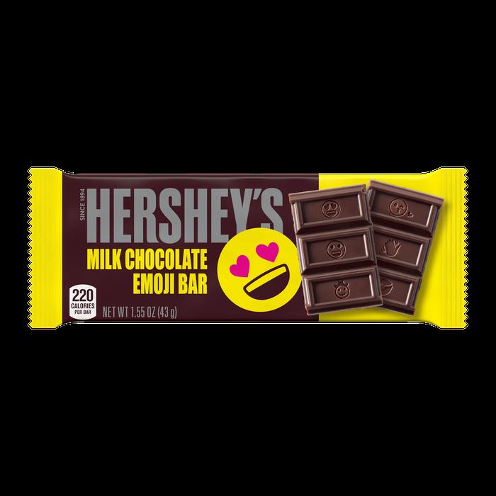 Hershey S Milk Chocolate Emoji Bars Fast Delivery In 2021 Hershey Chocolate Bar Hersheys Chocolate Milk
