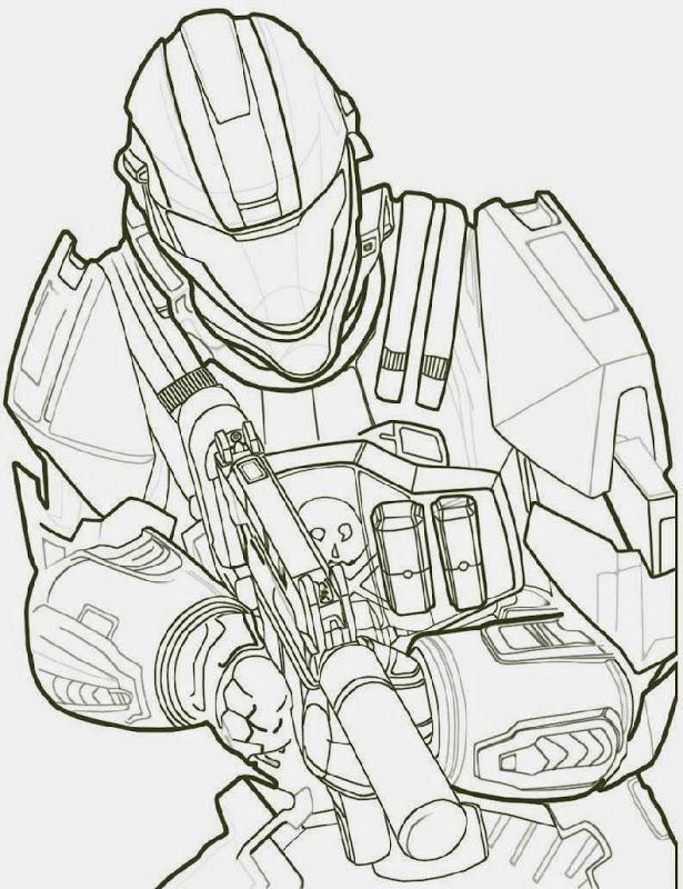 Free Printable Halo Coloring Pages For Kids | colouring pages ...