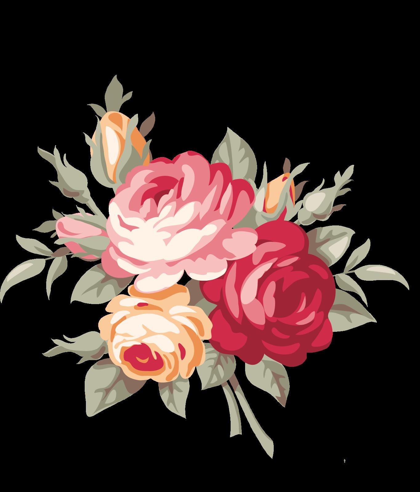 Vector Flores Convites Convites Casamento Casamento Png E: Pin De Decoupage Homedecor Em Clipart