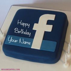 Incredible Social Media Fb Birthday Cake With Name Wishes Cake Name Funny Birthday Cards Online Elaedamsfinfo