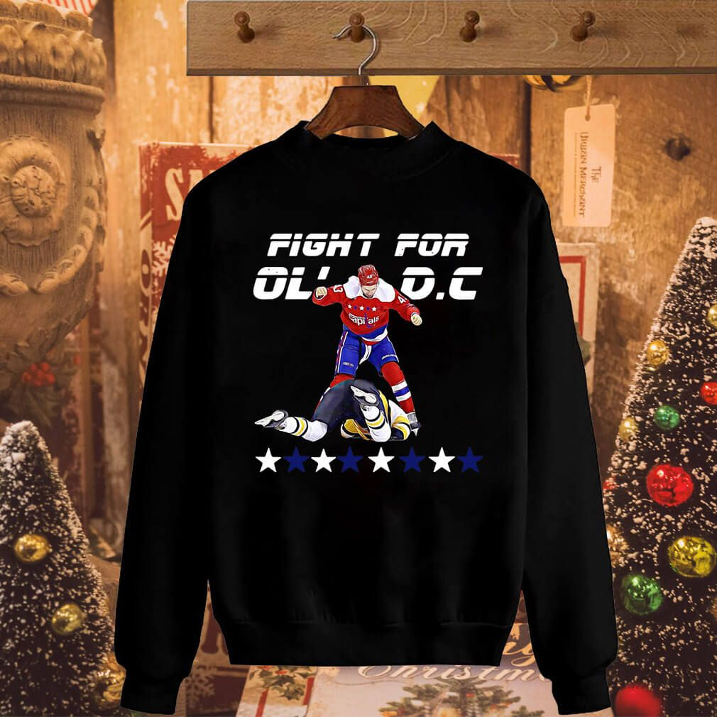 Washington Capitals Tom Wilson fight for Ol  DC capital shirt and ... 1f520cdfc