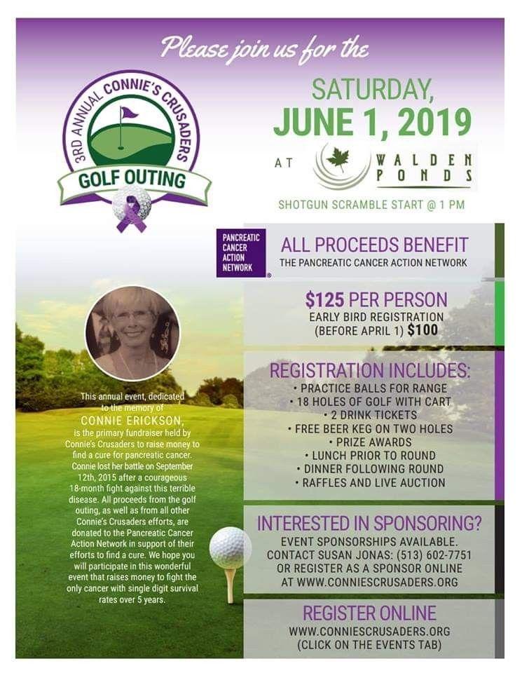 13+ Cancer crusaders golf tournament information