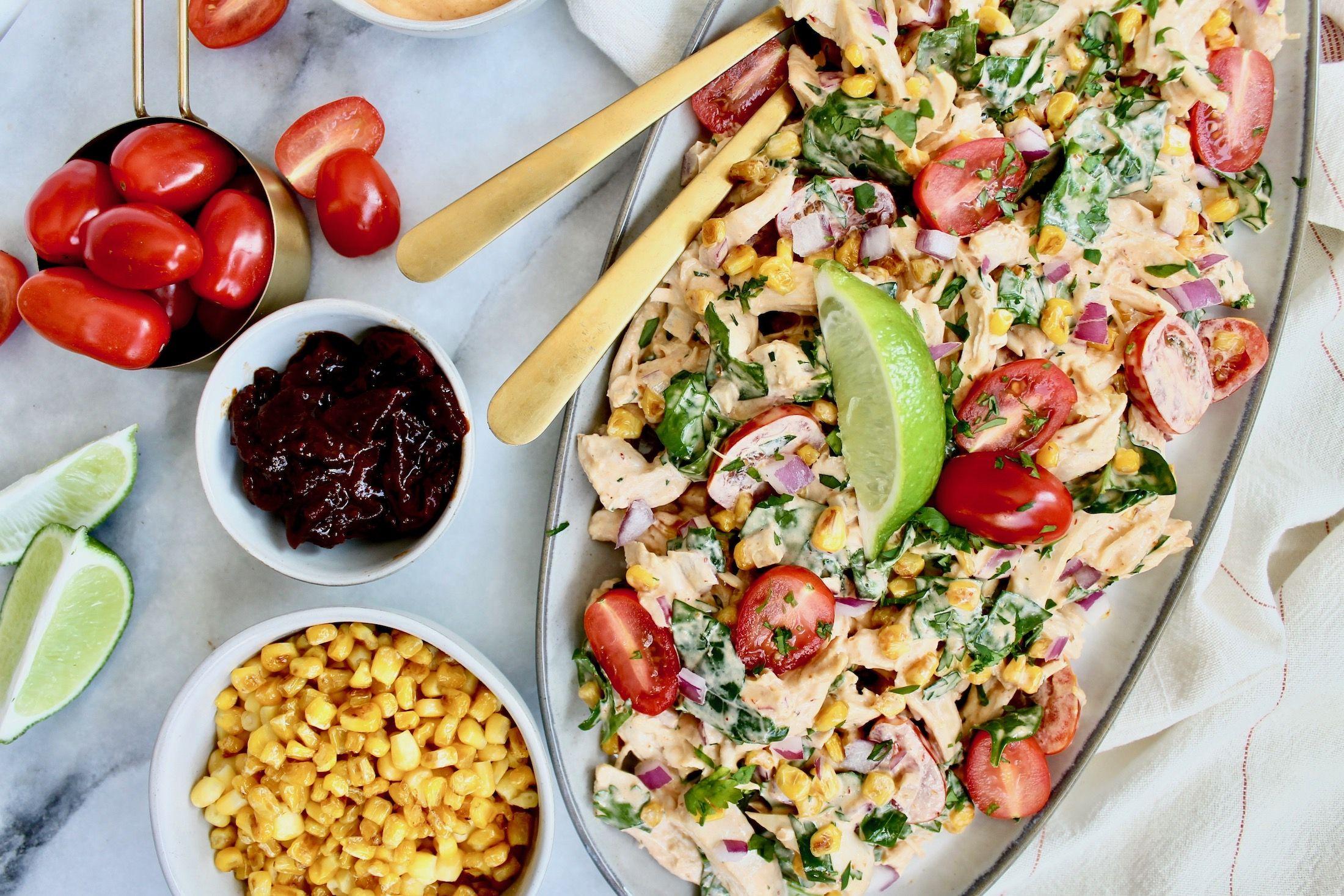 Chipotle chicken salad prescribe nutrition lunch