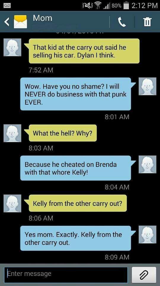 Hilarious text Funny mom text Elizabeth   Funny Text ...