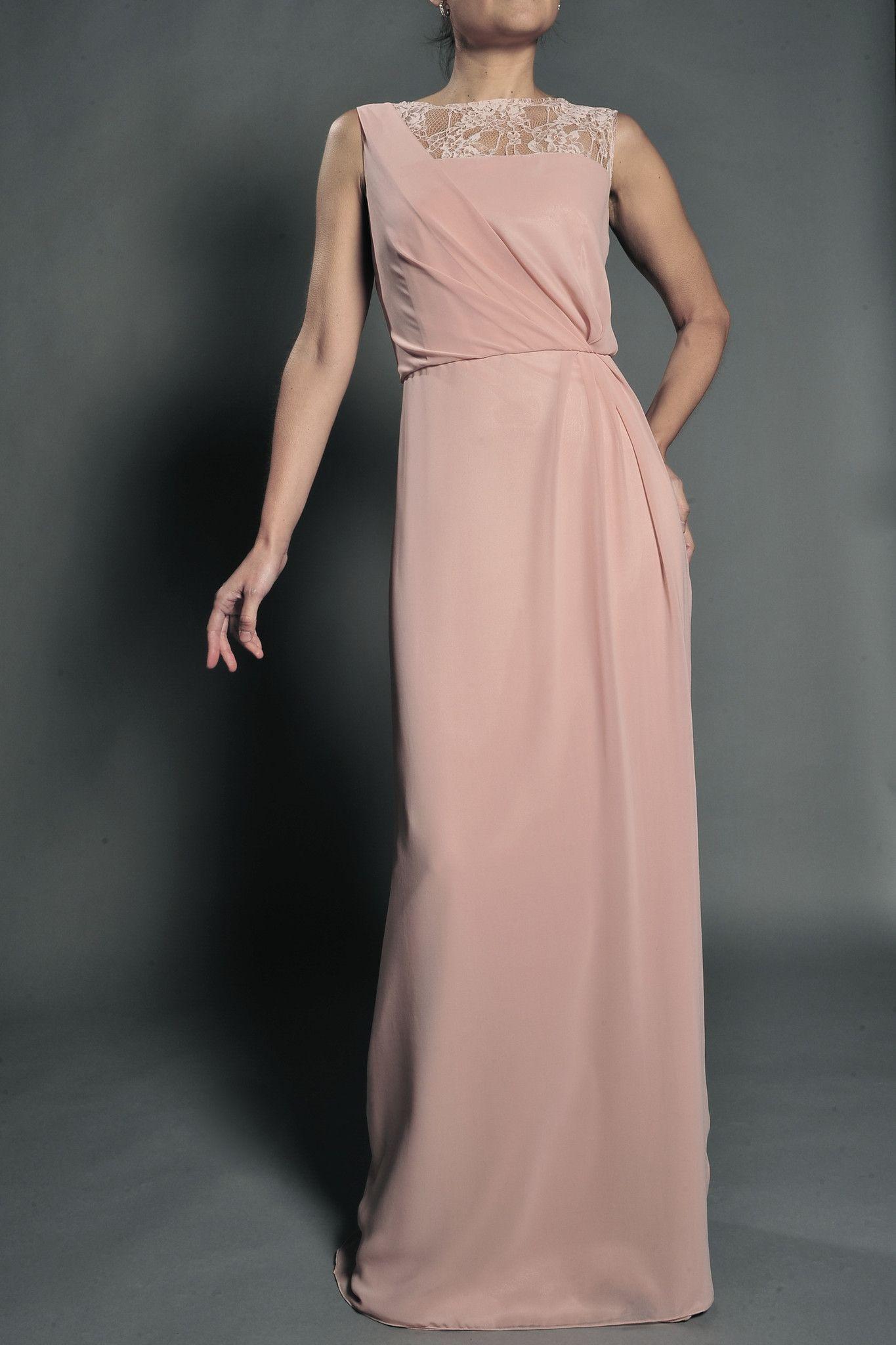 Vestido de novia color nude modelo 361 by Veneno en la piel ...