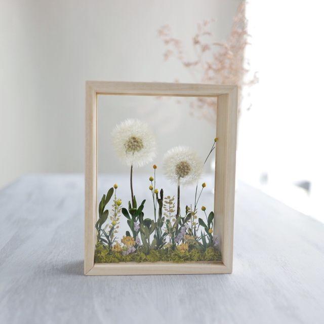 BotanicalBoxFrame*たんぽぽmini | ハンドメイドマーケット minne