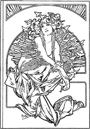Alphonse Mucha Wikiart Org Art Nouveau Mucha Alphonse Mucha Art Alphonse Mucha