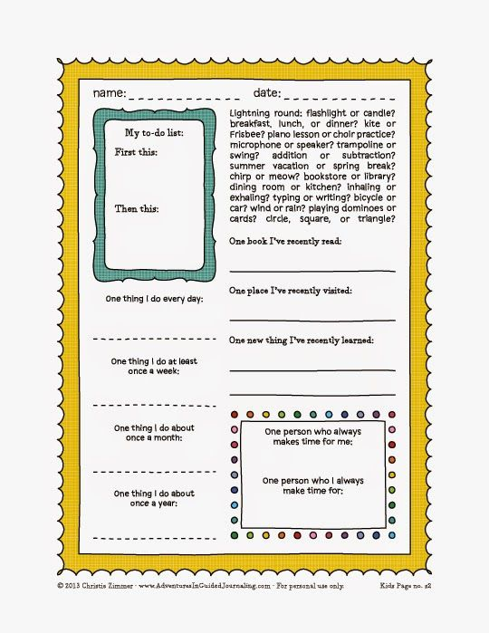 Super cute FREE printable journal pages.....LOTS of them ...  |Journals For Adults