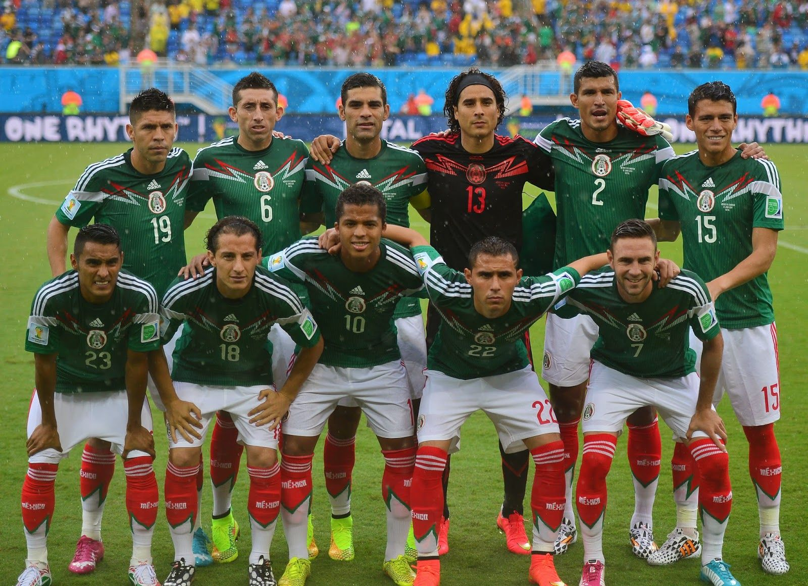 Fifa World Cup 2014 Mexico Vs Cameroon Second Match In Pictures Mexico World Cup World Cup 2014 Soccer World